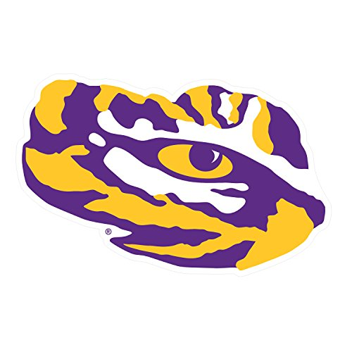 LSU Decal LSU TIGER EYE DECAL 3