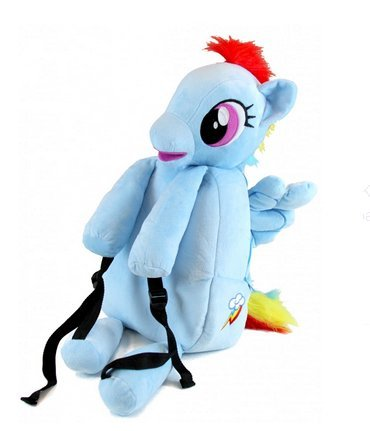 My Little Pony Jumbo Rainbow Dash Backpack