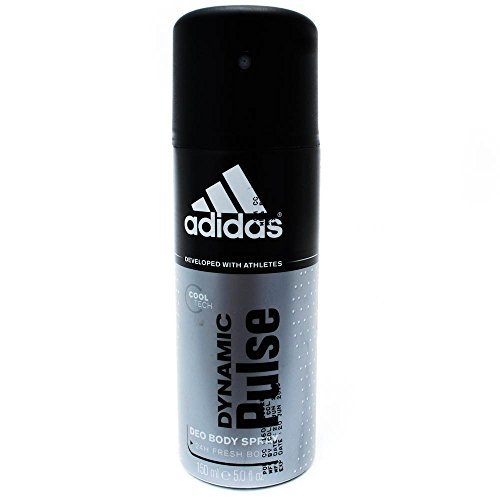 Price comparison product image Adidas Dynamic Pulse 24 Hours Fresh Boost Deo Body Spray for Men, 5 Ounce 6 pack