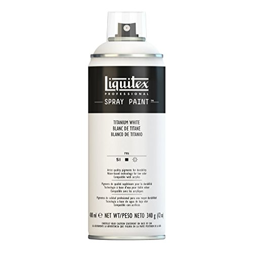 Liquitex 4450432 Professional Spray Paint 12-oz, Titanium White