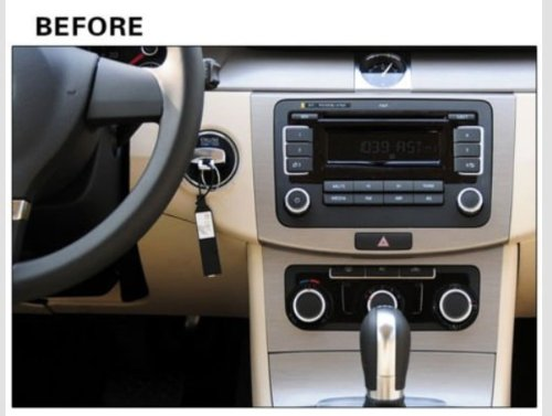 8 inch Touch screen Volkswagen DVD Player GPS Navigation for VW Jetta,VW Golf,VW Passat with DVD/GPS/PIP/3D/Game/AnalogTV/Bluetooth/ BT music/Ipod/BT telephone book/CANBUS (camera view),Steering Wheel Control by EinCar (Image #1)