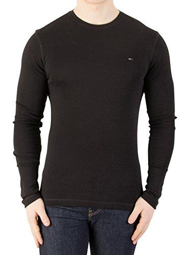 Tommy Jeans Men's Longsleeved Slim Fit T-Shirt, Black, - Buy Tommy Hilfiger