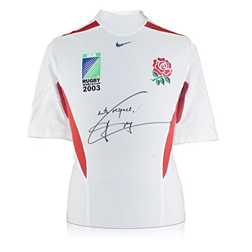 Jonny Wilkinson Signed Rugby World Cup 2003 Player Issue Jersey ()