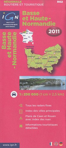 Basse Et Haute Normandie 2011 IGN (English and French Edition)
