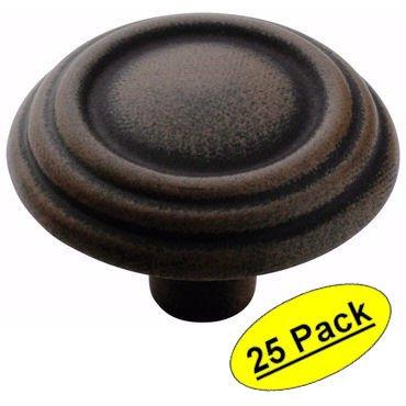 amerock-bp1307-art-traditional-3-ring-antique-rust-finish-cabinet-hardware-knob-1-1-4-diameter-25-pa
