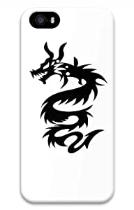 Hot iPhone 5S 3D Customized Unique Print Design Dragon Tattoos Set5 New Fashion iPhone 5/5S Cases
