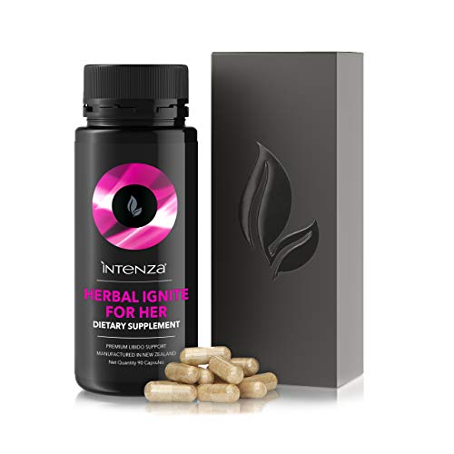 - Premium Women's Libido Supplement, 100% Pure & GMO Free - Sex Drive - Balances Hormones, Relieves hot flushes & Aids PMS - Lifts Mood - with Horny Goat Weed & Tribulus Terrestris