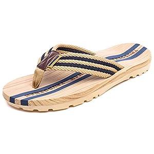 Infradito Uomo Donna Sandali Flip Flops Pantofole Ciabatte da Mare per Spiaggia e Piscina Estate Scarpe da Casa 1 spesavip
