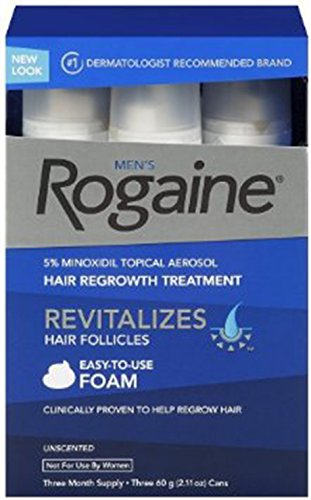 Rogaine Foam Unscente 6 35z Unscented
