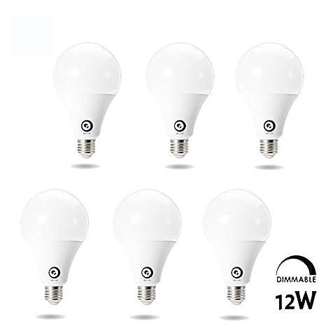 Pegasus Digoo Lark Series B22 12w pf alta calidad globo bombilla ac220-240v E27 regulable LED: Amazon.es: Iluminación