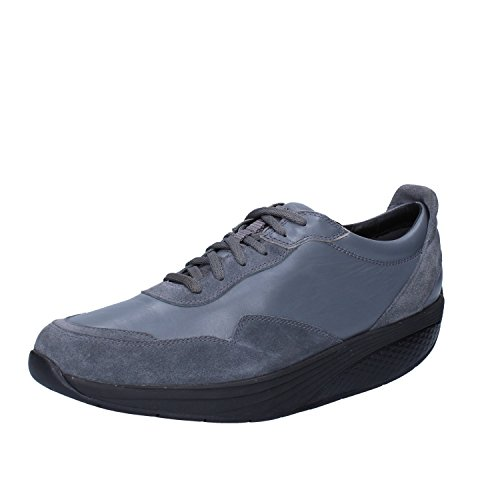 MBT Oxford-shoe / Elegant Mens 8/8.5 US - 42 EU Leather Suede Gray