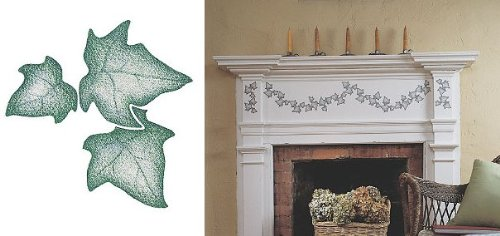 Wallies Wallpaper Cutouts (25 Grouped Ivy Leaves) (Wallies Ivy)