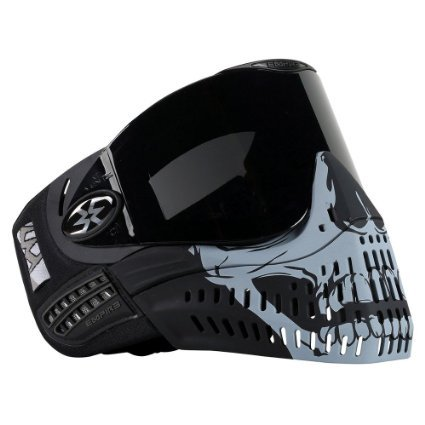 Empire E-Flex Limited Edition Thermal Paintball Goggles - Black Skull