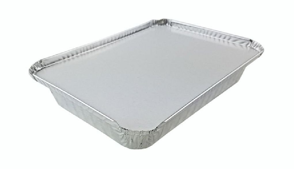 1 1/2 lb Oblong ''Shallow'' Take-Out Food Storage Container w/Board Lid