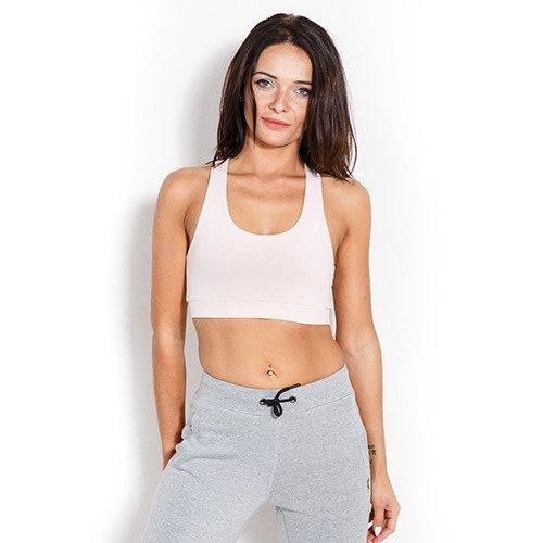 Kevin Levrone Bra Woman Lady Powder Pink–Reggiseno sportivo–Formazione Top–Fitness