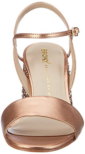 Bronx Damen BX 1254 Bjaggerx Offene Sandalen Pink (Rosegold)
