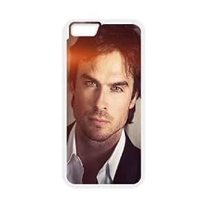 iPhone 6 4.7 Inch Phone Case White He Ian Somerhalder Actor Instagram Model Celebrity CM4K7BPD Phone Case Websites