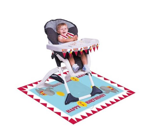 (3-Piece High Chair Party Kit, Circus)
