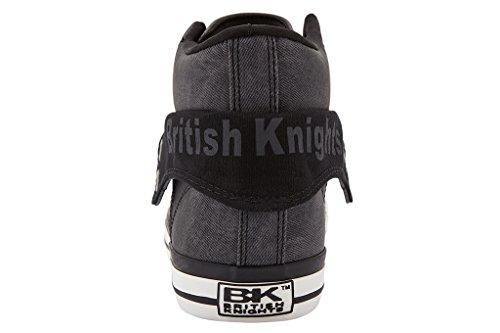 British Knights Roco - Zapatillas deportivas de caña alta para hombre grau