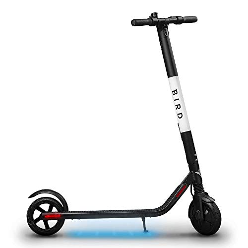 Great Deal! Bird ES1-300 Electric Scooter-300 Watt Motor, Ground Effect Lights, Front Shock Absorpti...
