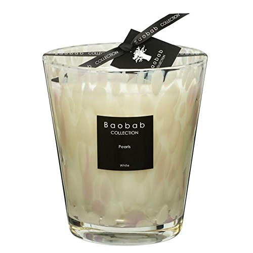 Baobab MAX16PW Pearls White Candle Candle Wax–16x 10x 16cm by Baobab (Image #1)