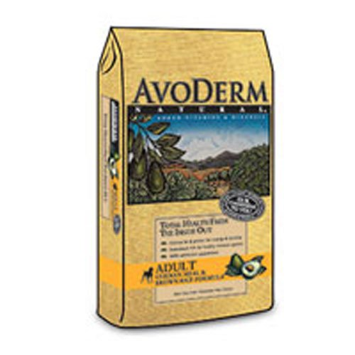 Breeder's Choice AvoDerm Natural Chicken Meal & Brown Rice Adult - Treats Avoderm