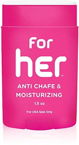 Body Glide For Her Anti Chafe Balm, 0.8oz (USA Sale - Made In Bra Sports Usa