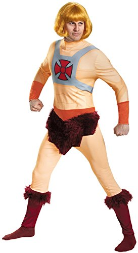 He Man Costume Amazon (Disguise Men's He-Man Classic Adult Costume, Multi, X-Large)
