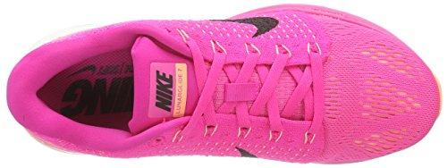 Femmes Nike Lunarglide 7 Chaussure De Course Rose / Pow Noir / Rose
