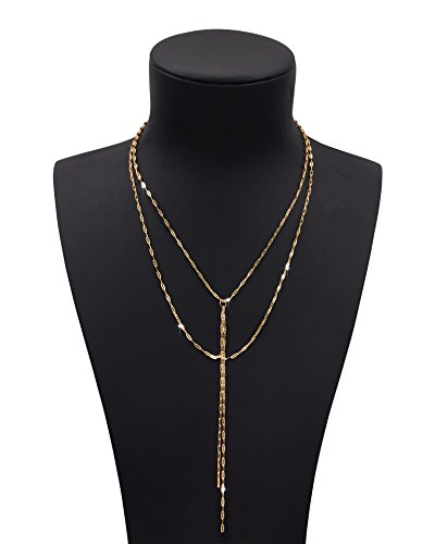 Zealmer Stunning Layering Necklace Synthetic