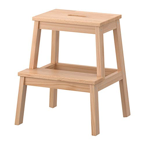 FXL Solid Wood Stool Home Small Step Stool Change Bench Change Shoe Bench Mini Ladder Furniture