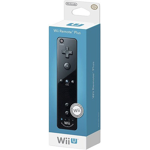 Nintendo Wii Remote Plus, Black ()