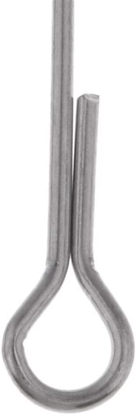 CUTICATE 60 St/ücke Fischsch/ädel Articulated Shank Fischr/ücken DIY Fliegenbindewerkzeug 5 Gr/ö/ßen