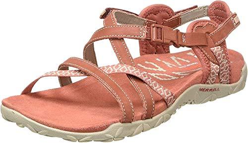 Merrell Women's Terran Lattice Ii Ankle-Strap, Orange
