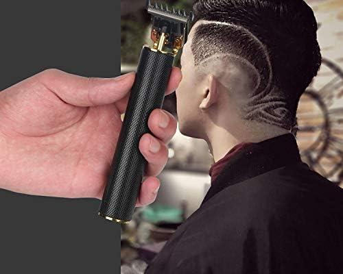 Ceramic black Nouveau T-Blade Tondeuse sans fil Tondeuse /à cheveux portable sans fil Sculpture en bois de santal avec chargeur