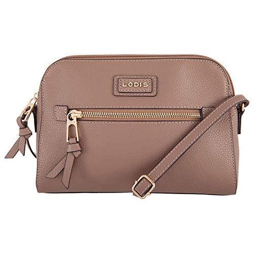 (Lodis Charlotte Leather Crossbody Handbag - Beige)