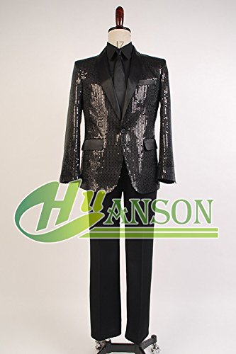 Yeti Cyber Monday Sale >> Daft Punk Costume Sparking Black Sequin (Cosplaysky ...