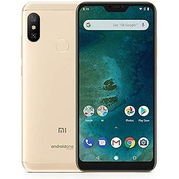 "Xiaomi Mi A2 Lite 14.8 cm (5.84"") 3 GB 32 GB SIM dual 4G Oro 4000 mAh - Smartphone (14.8 cm (5.84""), 1080 x 2280 Pixeles, 3 GB, 32 GB, 12 MP, Oro)"