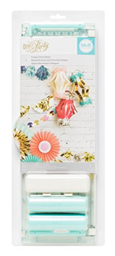 DIY Party Fringe and Score Board by We R Memory Keepers | Includes scoring tool and fringe cutting tool