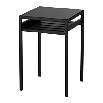 ikea side end table tall blackbeige - End Tables Ikea