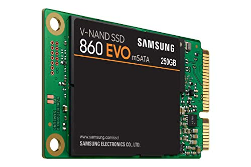 Samsung SSD 860 EVO 250GB mSATA Internal SSD (MZ-M6E250BW)