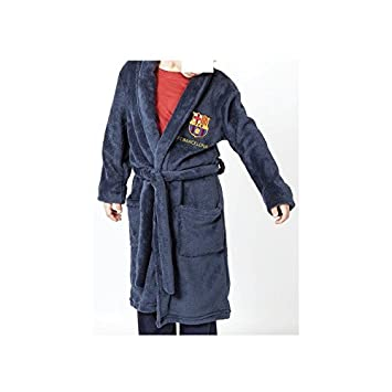 Desconocido Bata de casa FC Barcelona niño - 4: Amazon.es: Deportes y aire libre