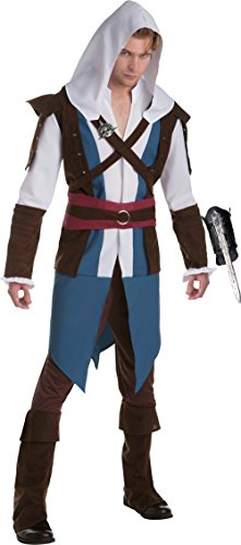 Assassin's Creed IV Edward Kenway Assassin Classic Men's Costume Bundle Large 44 ()