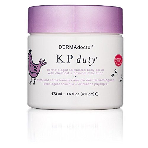 DERMAdoctor KP Duty Body Scrub With Chemical Plus Physical Exfoliation, 16 oz.