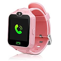Kids Smartwatch Phone Watch Mini Digital Camera with 1.44 Touch Screen Music Player Alarm Clock Calendar Calculator Birthday Gift for Boys and Girls