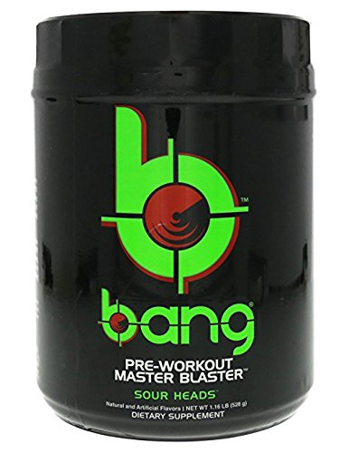 Vpx Bang Pre workout Master Blaster Sour Heads