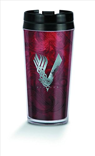 Insulated Oz Tumbler Officially Cup Vikings Travel Mug Licensed 10 Tv History Channel Coffee Show nwvm08yON