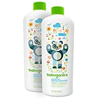 Babyganics Alcohol-Free Foaming Hand Sanitizer Refill, Fragrance Free, 16oz B...