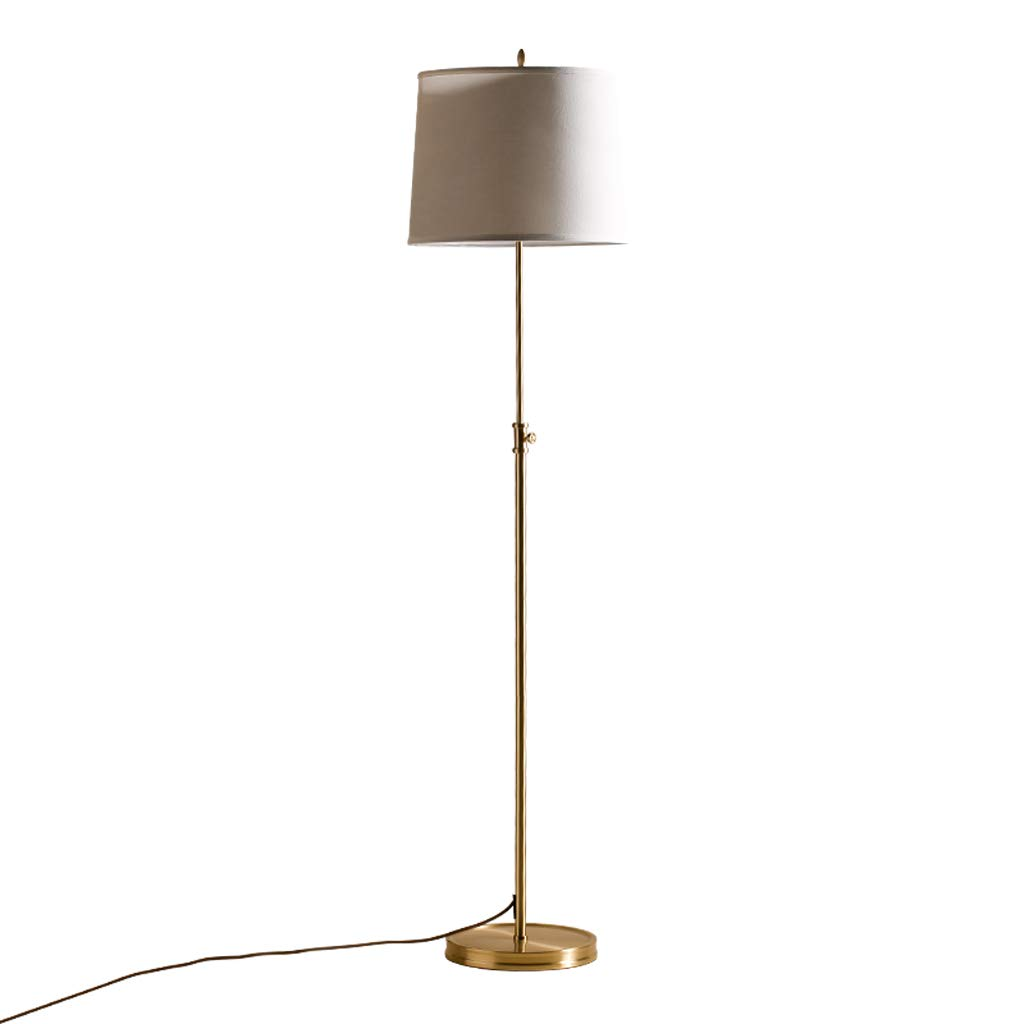 Amazon.com: JUFU Copper Floor Lamp American Country Simple ...
