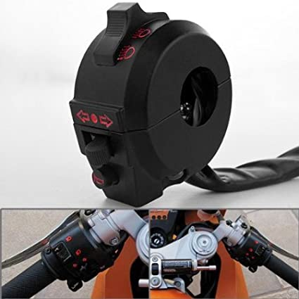 LOOYUAN 7//8 Handlebar Switch Horn Light Turn Signal For Motorcycle Dirtbike